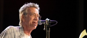 "FONTANA, CALIFORNIA - SEPTEMBER 6:  Musician Ray Manzarek from the group ""The Doors"" performs at the Harley-Davidson 100th Anniversary September 6, 2002 in Los Angeles, California.  (Photo by Michel Boutefeu/Getty Images)"