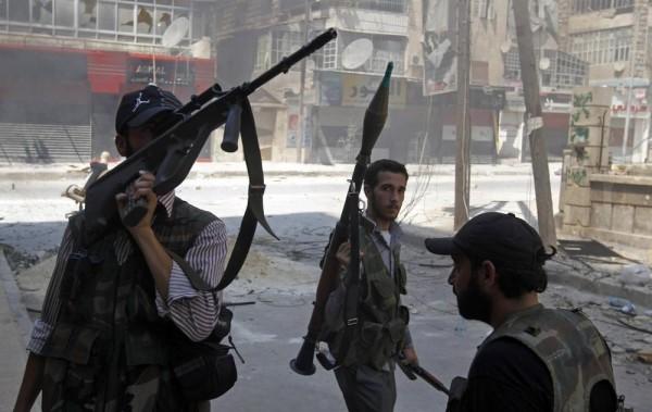 Rebeldes Siria
