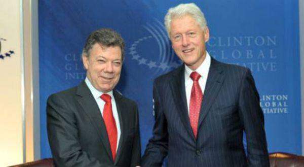Santos y Clinton