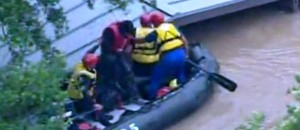 Texas flood-rescue-raft-roof