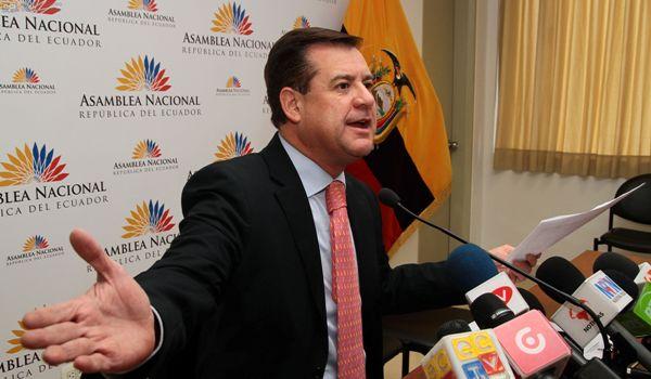Andrés Páez, asambleísta por CREO. Foto de Archivo, La República.