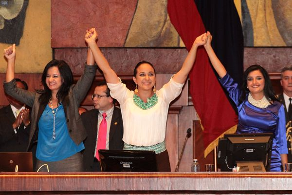 QUITO 9 DE MAYO 2013.POSECION DE LA NUEVA ASAMBLEA NACIONALl. FOTOS API / JUAN CEVALLOS.