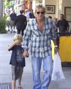 Rod Stewart en Beverly Hills