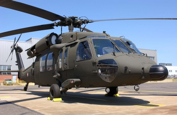 Helicóptero Black Hawk.