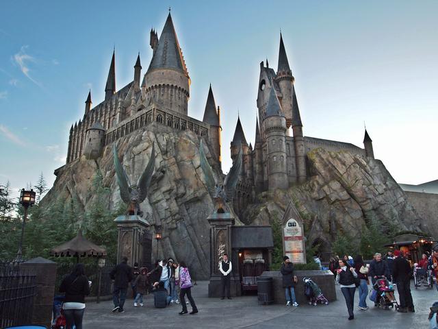 El parque de Harry Potter en Orlando.