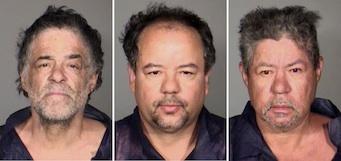 Los hermanos Castro. Foto AP/Cleveland Police Department