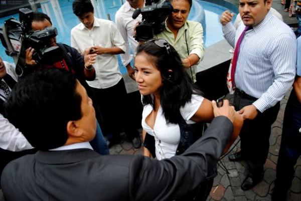 Allyson León Yagual, supuesta sobrina de Ingrid León