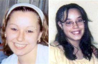 Amanda Berry y Gina DeJesus. Foto AP/FBI