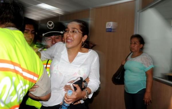 Guayaquil, 28 de Mayo del 2013. Dictan Prisión preventiva contra Ingrid León y otros implicados en muerte de Fausto Valdiviezo. APIFOTO/CÉSAR PASACA