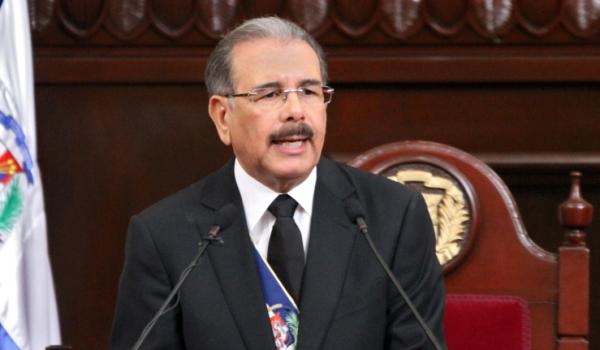 Danilo Medina, presidente de República Dominicana. Foto de archivo