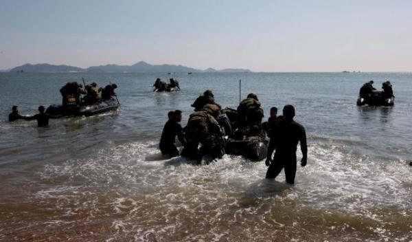 Los ejercicios militares por parte de EEUU y Corea del Sur aun continúan