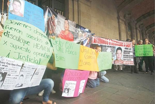 secuestrados mexico
