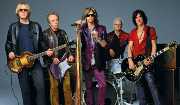 Aerosmith, banda de rock.