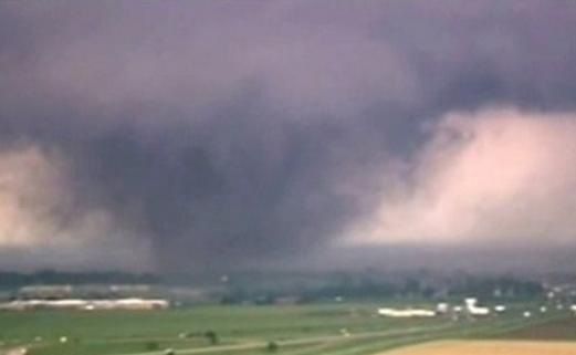 Amenaza de tornado