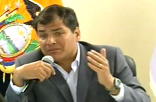 Correa ley de Comunicación