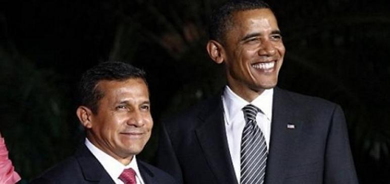 Humala y  Obama