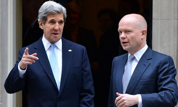 Kerry y Hague