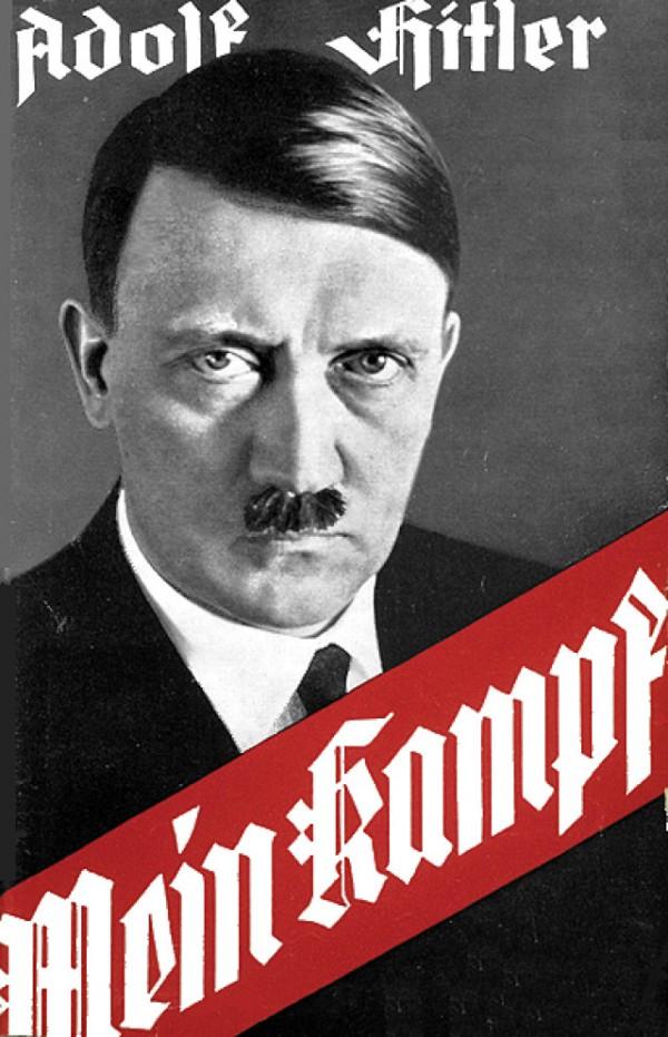 Portada de Mein Kampf