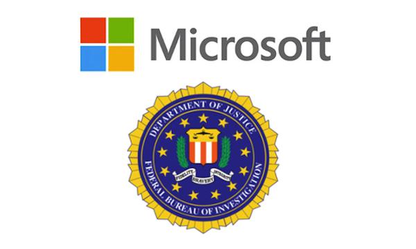 Microsoft y FBI