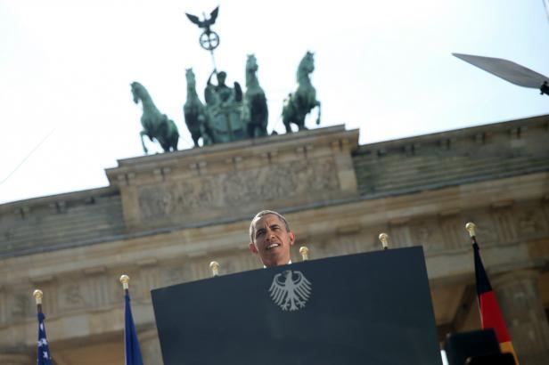 Obama en Alemania