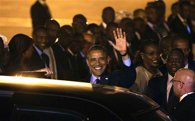 Obama en Senegal_