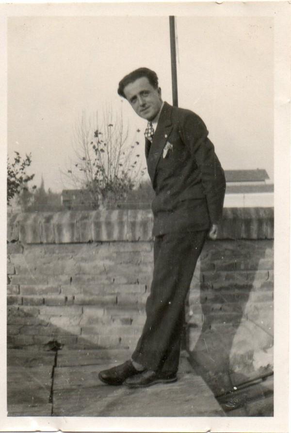 Odoardo Focherini en su juventud antes de ser capturado por los nazis.