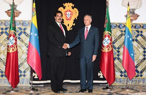 Nicolas Maduro y Pedro Passos Coelho.