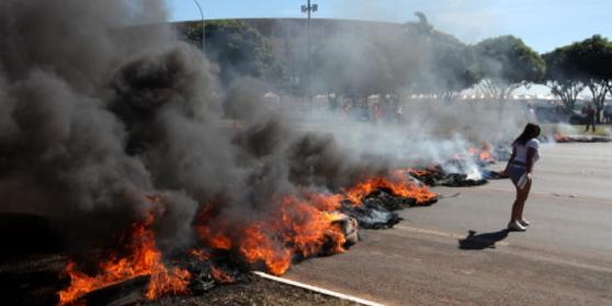 Protestas Brasilia