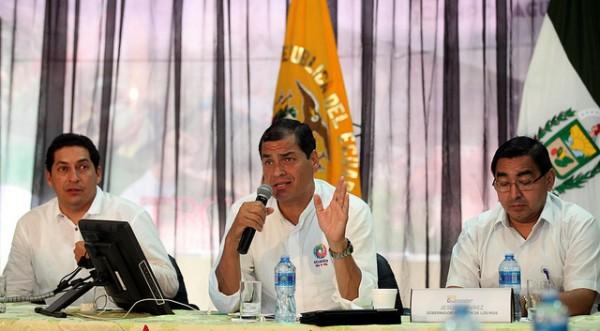Rafael Correa Conversatorio