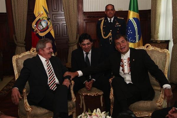 Reunión Lula Correa