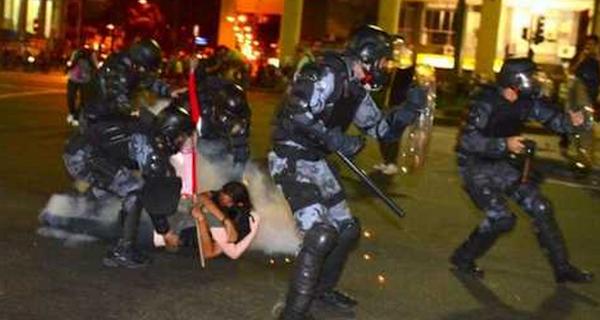 SAO PAULO protestas