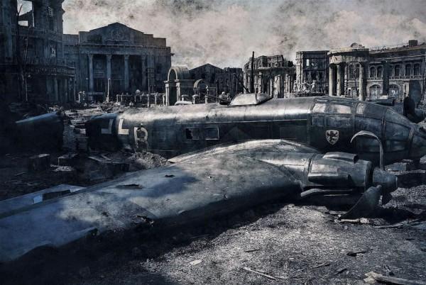 """MOSCÚ, 09/06/2013.- Fotografía facilitada por Sony Pictures de parte del decorado de la película """"Stalingrado"""", la primera superproducción rusa en formato IMAX, de la que asegura su director, Fiódor Bondarchuk, en una entrevista con Efe que no es una película bélica o patriótica, sino un drama personal dentro de una de las batallas más sangrientas de la historia. El director ruso más taquillero de la última década señala que """"Stalingrado"""" ha dado una nueva vuelta de tuerca a las """"revolucionarias innovaciones"""" cinematográficas introducidas en su día por """"Salvar al soldado Ryan"""", de Steven Spielberg. """"Es el eterno deseo de los directores de cine, reducir la distancia entre la pantalla y las butacas. En la actualidad, si uno sabe utilizar la nuevas tecnologías, se puede crear una especie de agujero en el tiempo"""", afirmó Bondarchuk. EFE"""