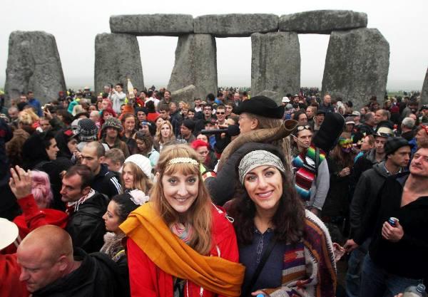 Stonehedge celebracion