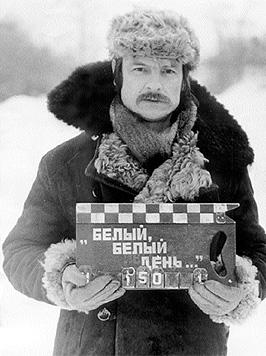"""Tarkovsky en la filmación de """"Solaris"""""""