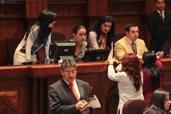 QUITO 22 DE MAYO 2013. Asamblea nacional nombro a German Ledesma (Creo) y a Ricardo Moncayo (Avanza) como vocales del CAL. FOTOS API / JUAN CEVALLOS