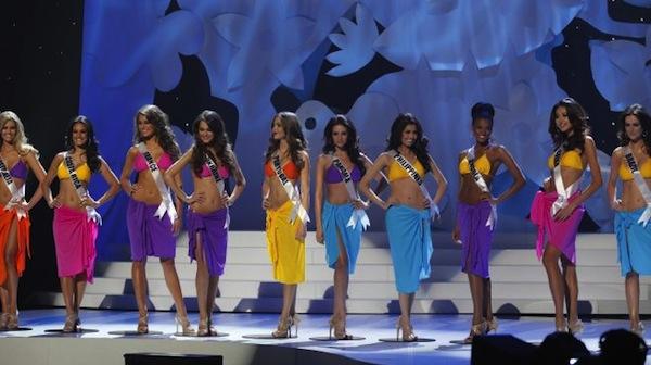 bikinis del Miss Mundo