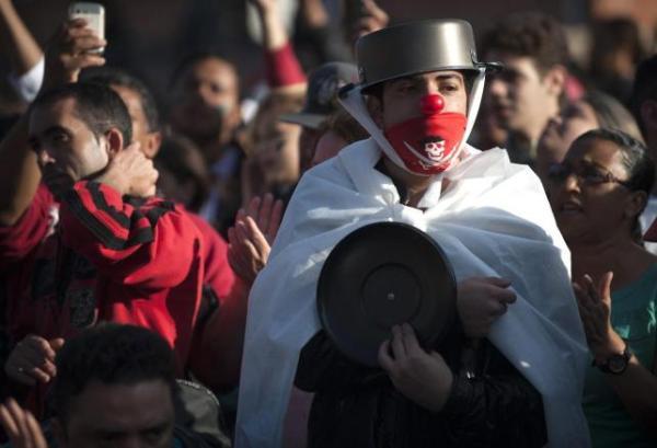 brasil manifestante