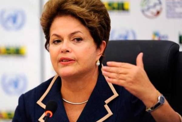 Dilma Rousseff. Foto de Archivo, La República.