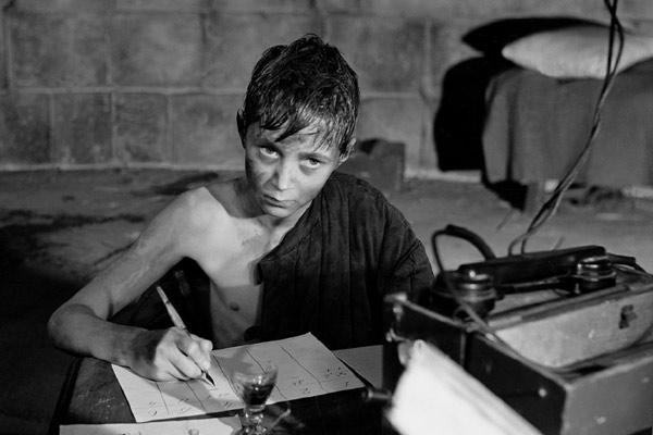 """Escena del primer largometraje de Tarkovsky  """"La infancia de Iván"""""""
