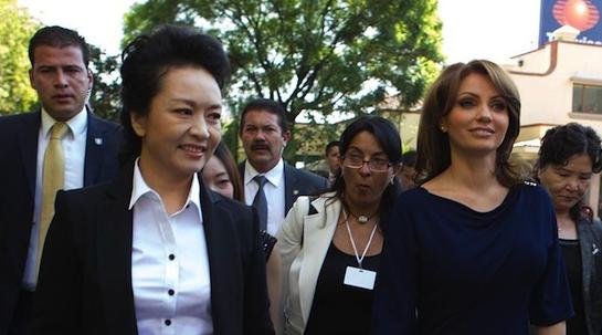 primera dama china, Televisa 2