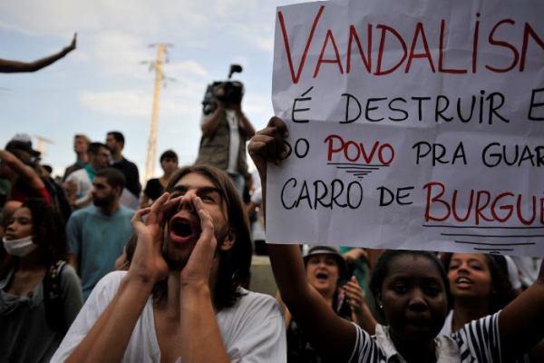 protestas en brasil_