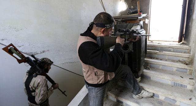 rebeldes sirios, egipto