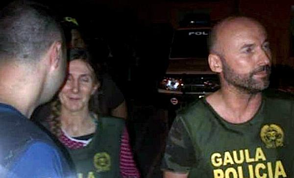 secuestrados españoles