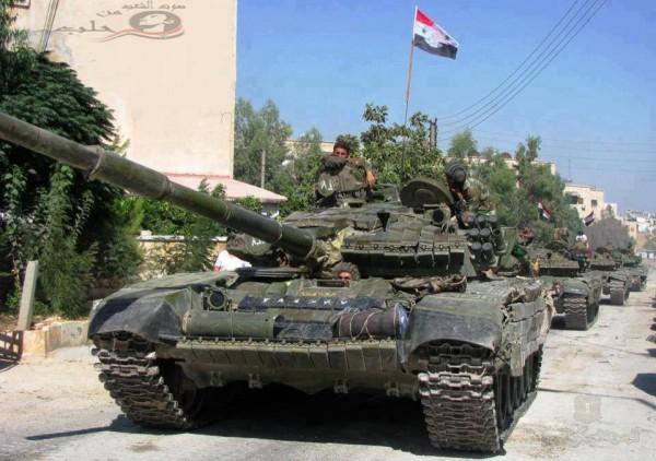 tanques SIRIA