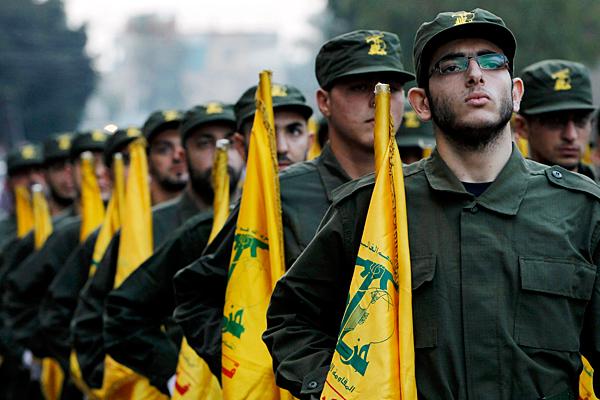 tropas hezbola
