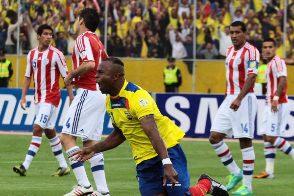 QUITO 26 DE MARZO 2013. Ecuador vs Paraguay. FOTOS API / JUAN CEVALLOS.