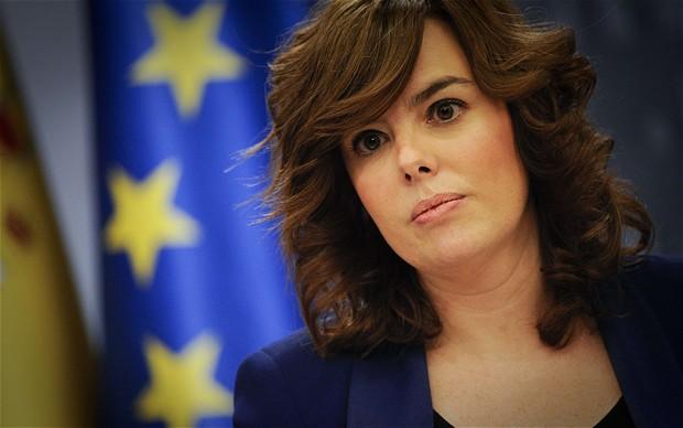 Soraya Sáenz de Santamaría. Foto: EFE/Archivo