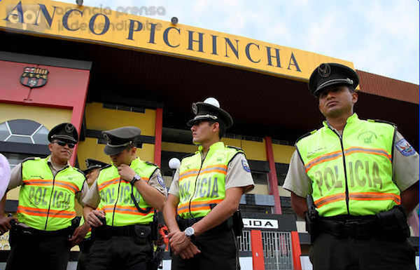 Estadio de Barcelona, el 5 de julio de 2013. API/César Pasaca
