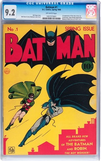 """Batman"" No. 1 de 1940"