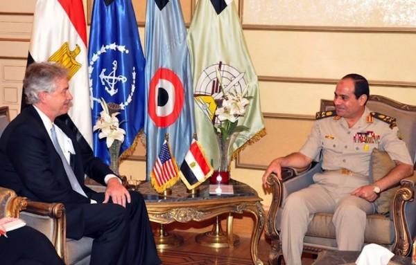 Gen. Abdel-Fattah el-Sissi, William Burns